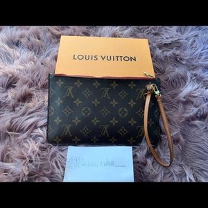 Louis Vuitton Neverfull Pouchette Pouch Wallet